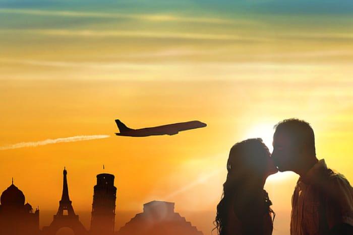 Bride and Groom - Honeymoon Planning