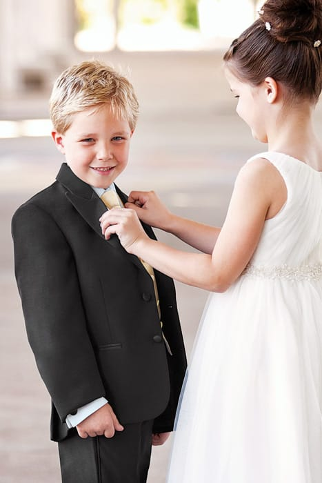 Children in the wedding