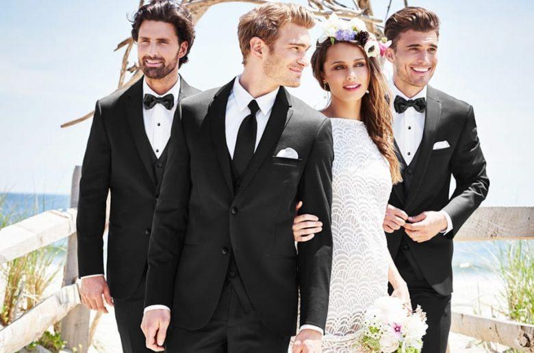 Michael Kors Slim Fit Wedding Suit