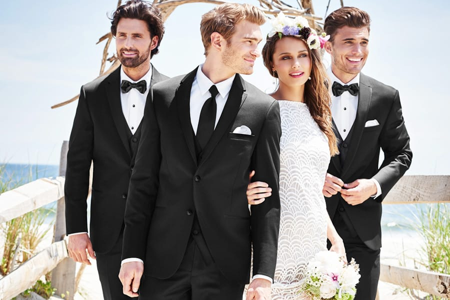 Michael Kors Slim Fit Wedding Suit