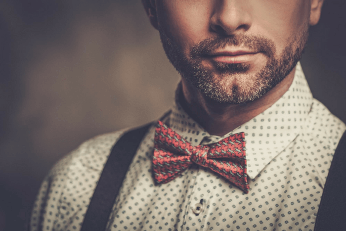 how to wear a bow tie and suspenders