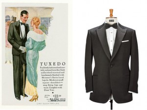 1931 Tuxedo Advertisement