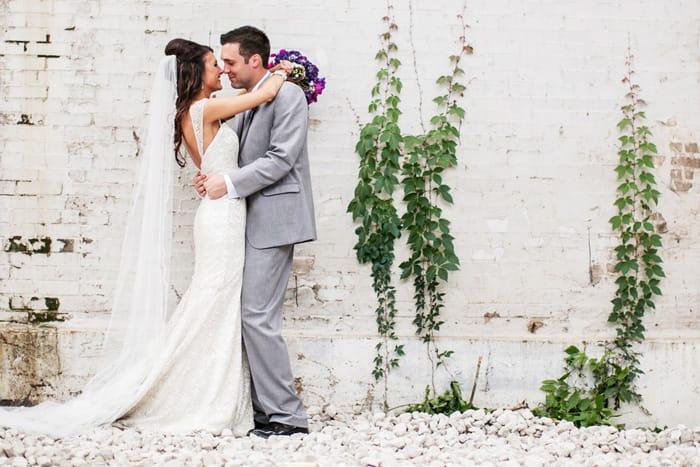 Real Weddings: Tara and Spencer Dancing