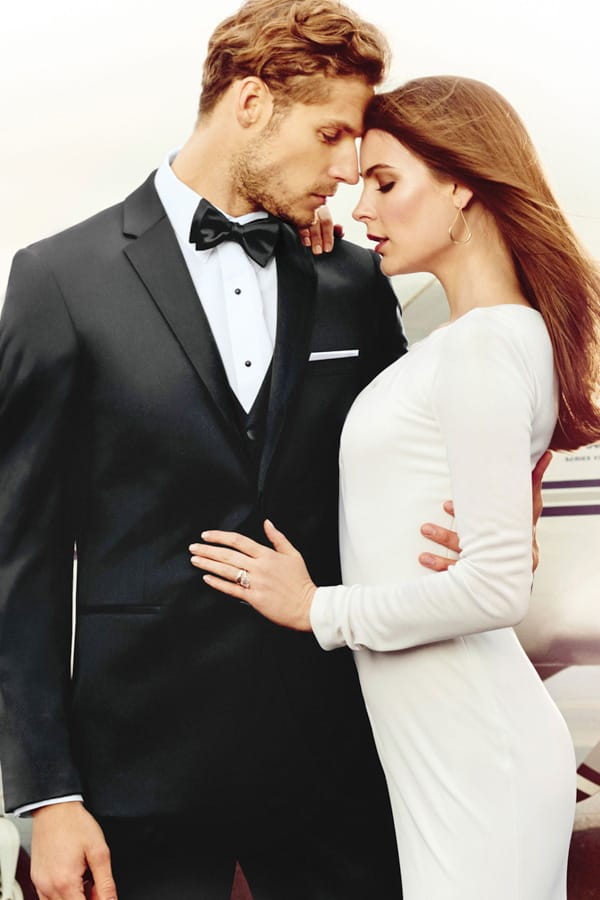 Slim Fit Tuxedo Black Michael Kors