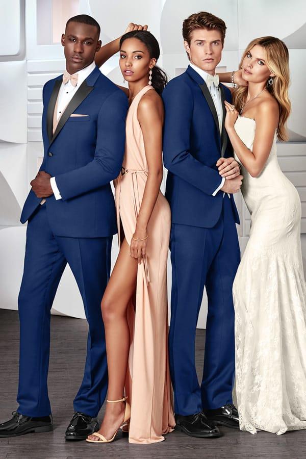 Slim Fit Tuxedo Blue Like Behar