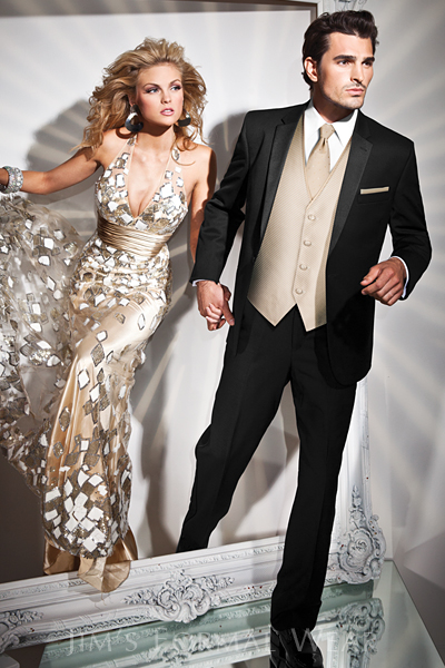 rules for wearing a tuxedo - Tony Bowls Genesis Fitted Tuxedo