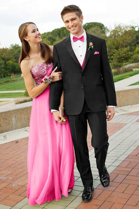 Prom Couple - Genesis Slim Fit Tuxedo by Tony Bowls