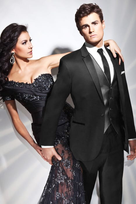The Genesis Slim Fit Tuxedo by Tony Bowls