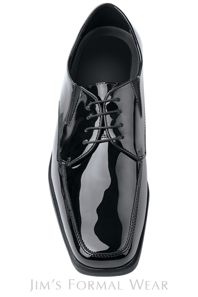 rules for wearing a tuxedo - Patent Leather Tuxedo Shoes