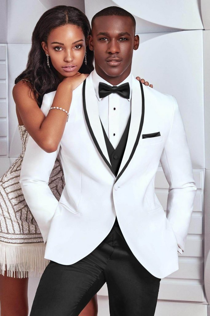 2018 formal wear color trends white