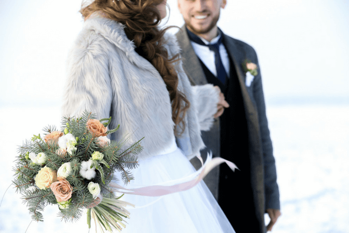 winter wedding color schemes