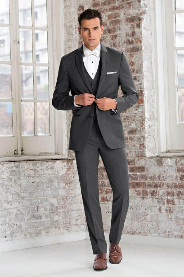 Steel Grey Sterling tux