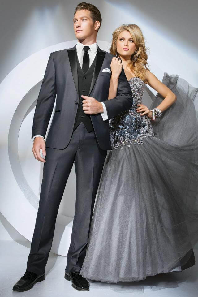 awesome tuxedos for prom grey