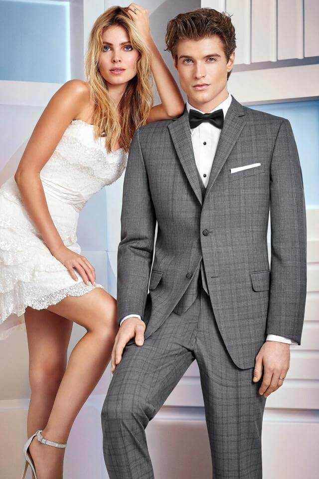 awesome tuxedos for prom plaid