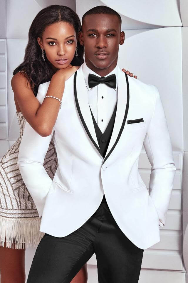 awesome tuxedos for prom white