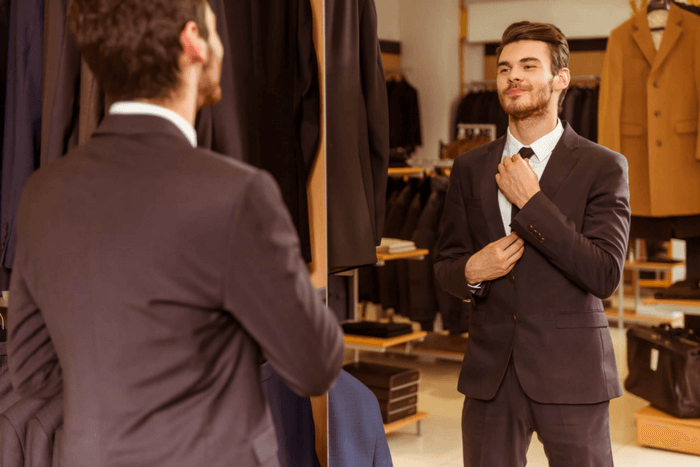 how to tell if a suit fits