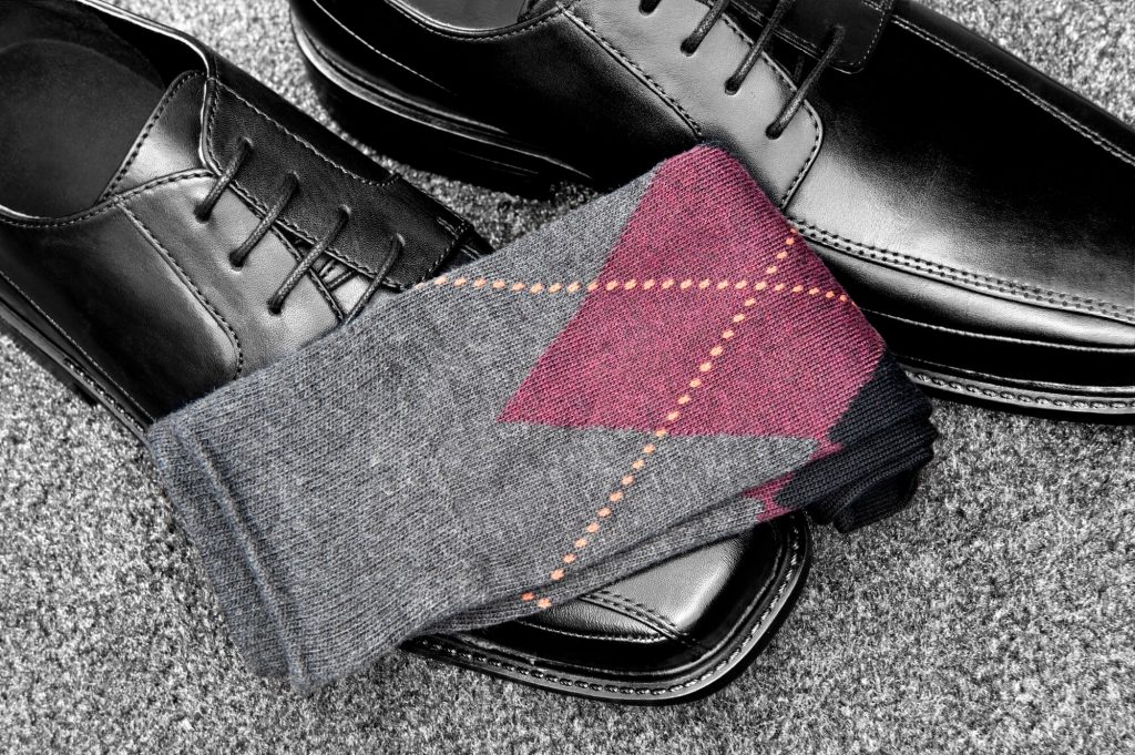bold dress socks argyle
