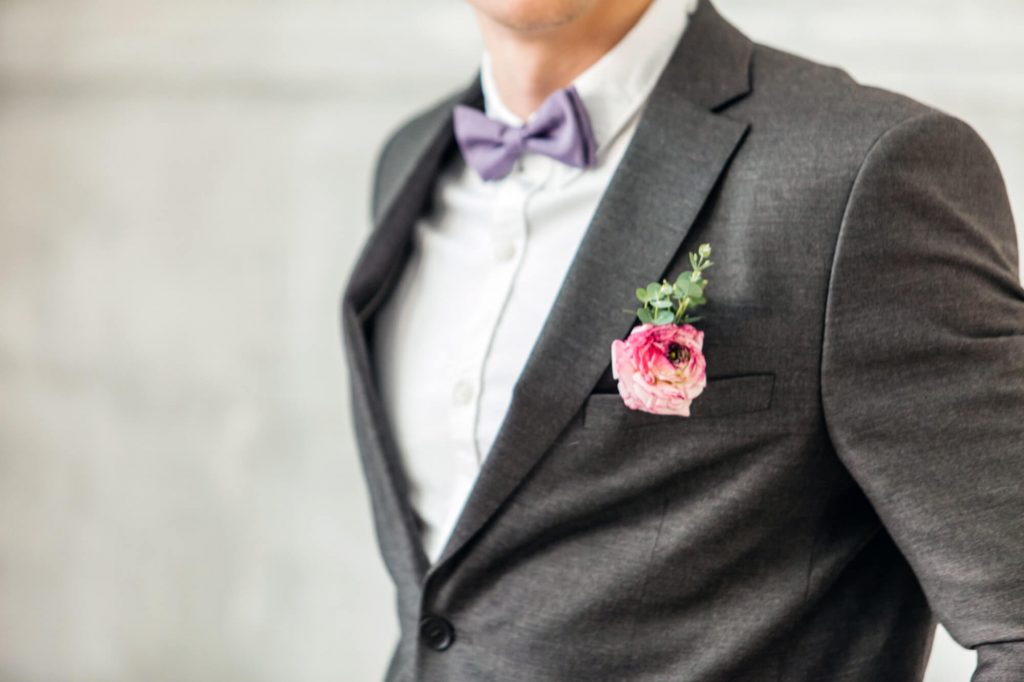 spring wedding suit accessories