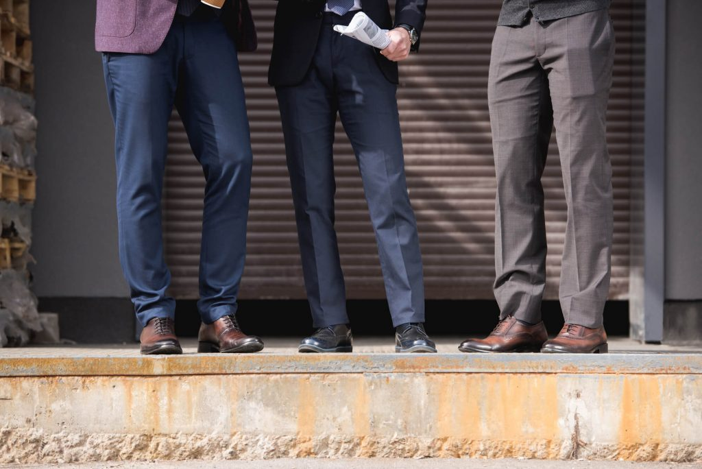 men's suit etiquette - suit Pants