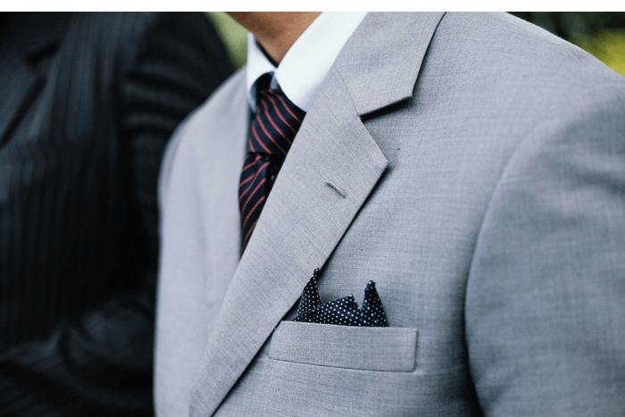 men's suit etiquette