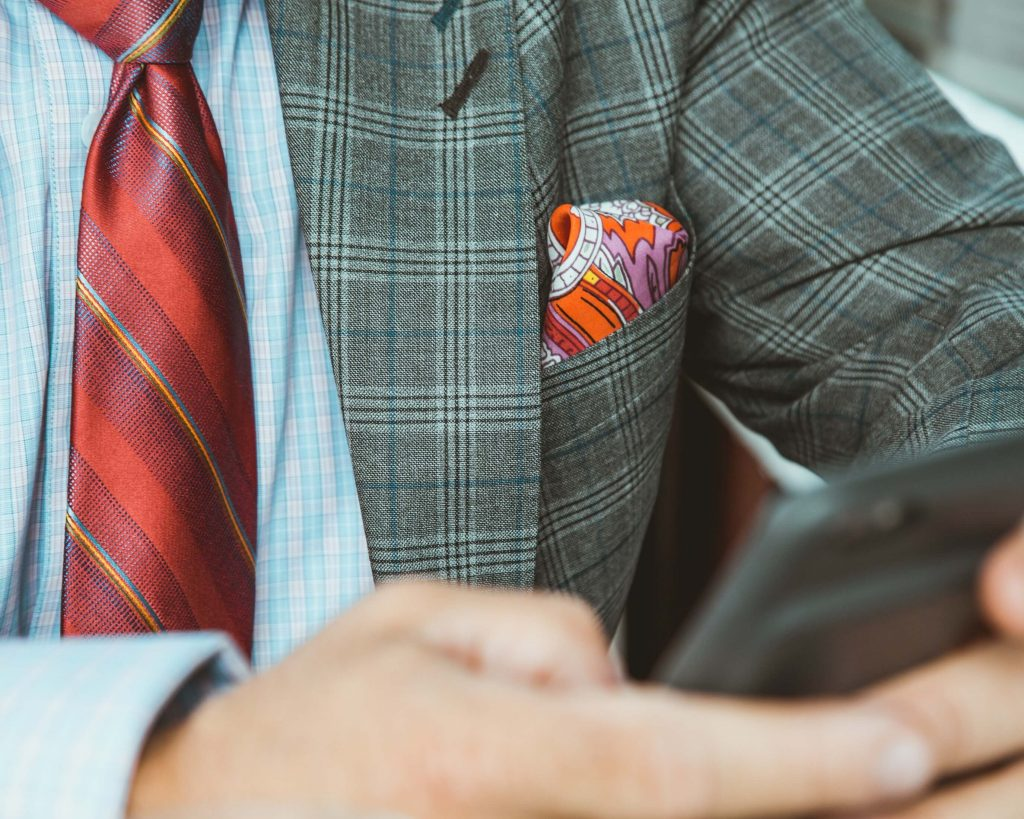 suit tie and pocket square combinations pattern