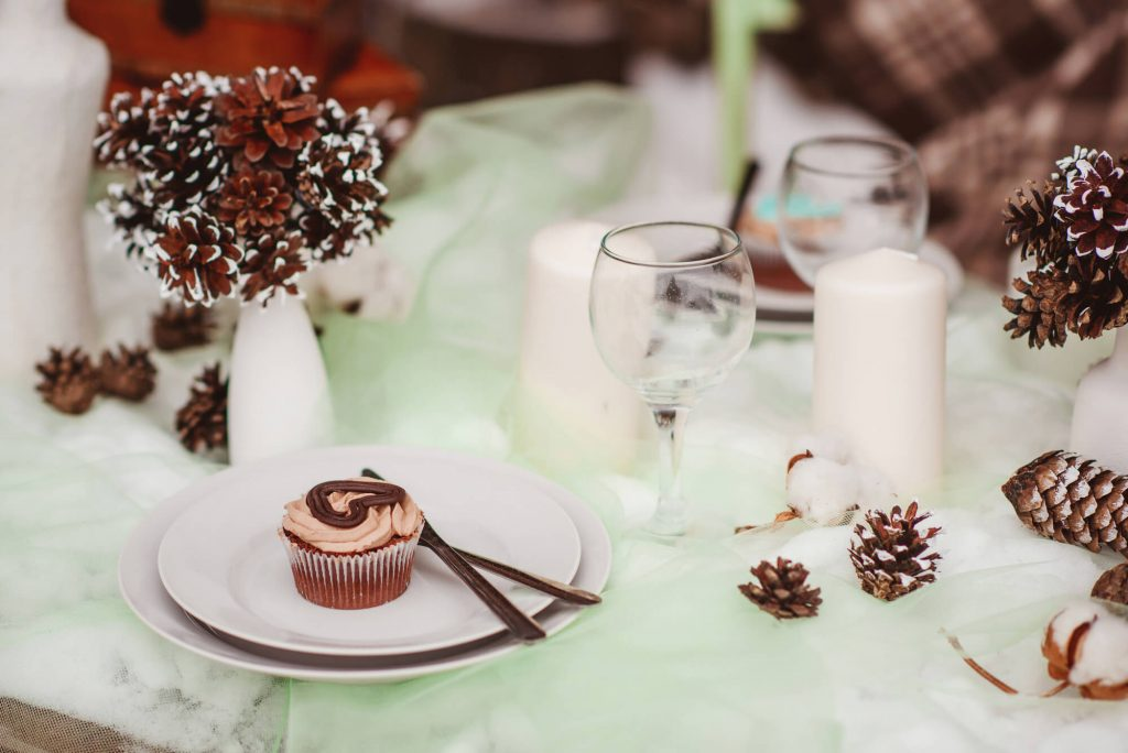 2018 winter wedding table