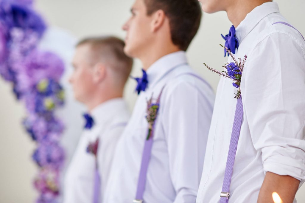 unique groomsmen suits suspenders