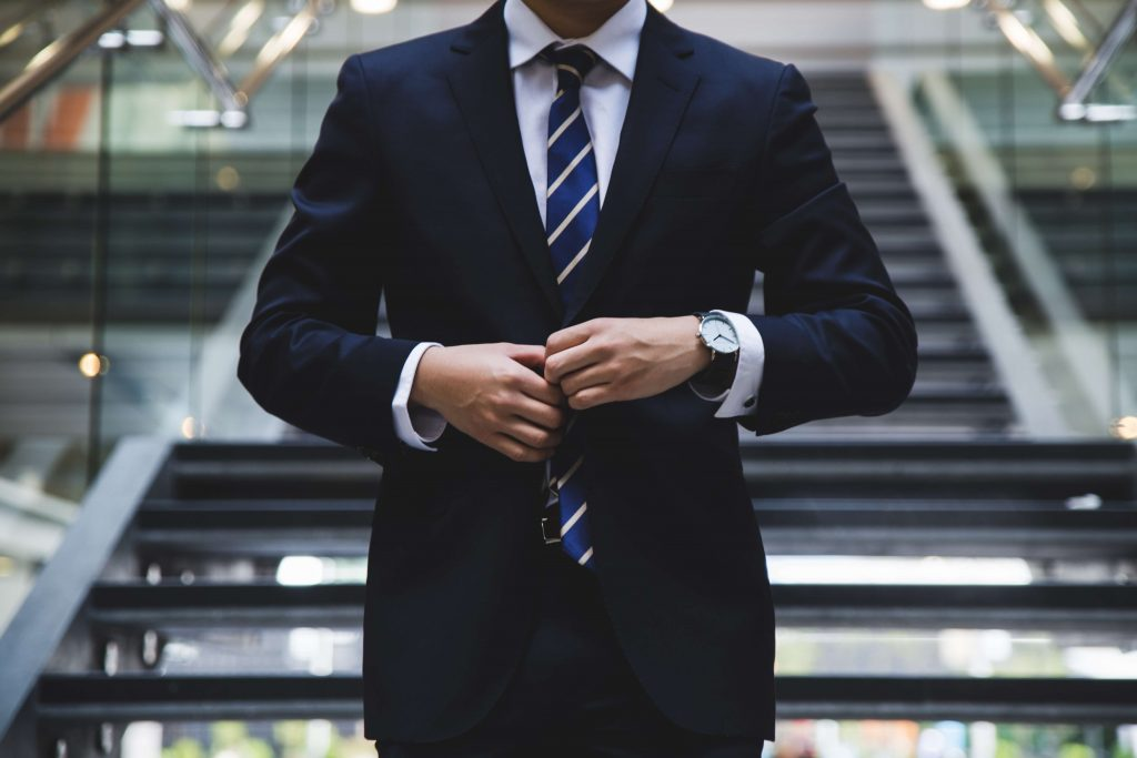 men's style resolutions business suit