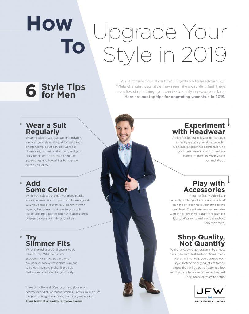 d5c8b0d5b10 How To Upgrade Your Style in 2019 - Jim s Formal Wear Blog
