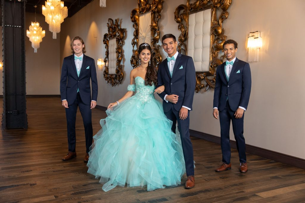 Quinceañera tuxedos for chambelanes