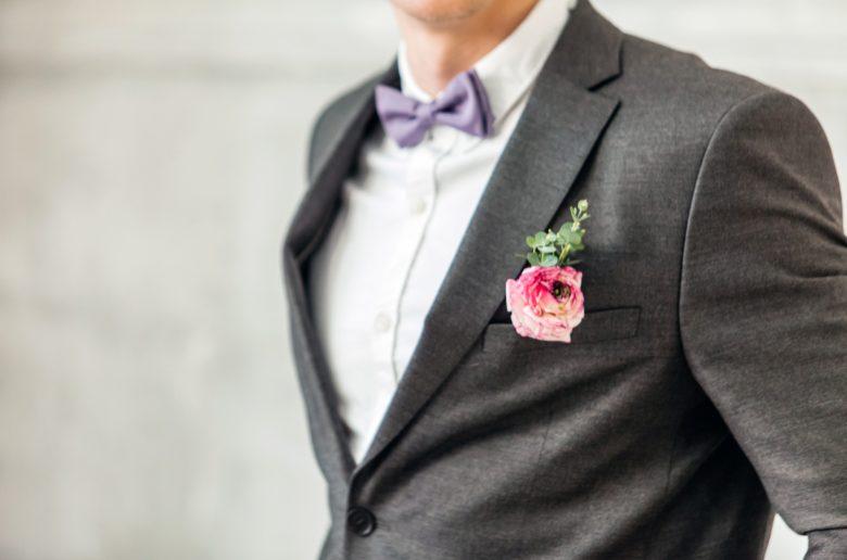 Spring Suit Lapel Flower
