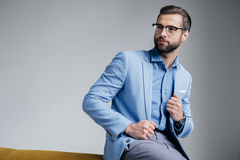 Chambray Suits for Passover and Easter