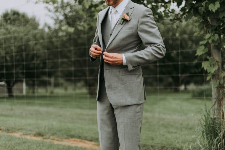 Light Grey Suits for Passover and Easter