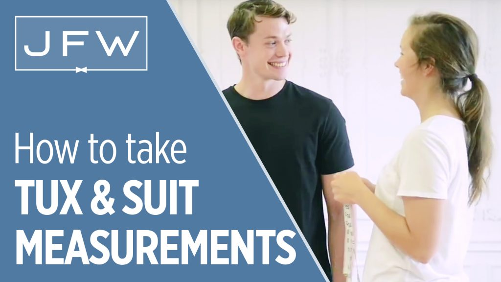 how to measure for a tux or suit