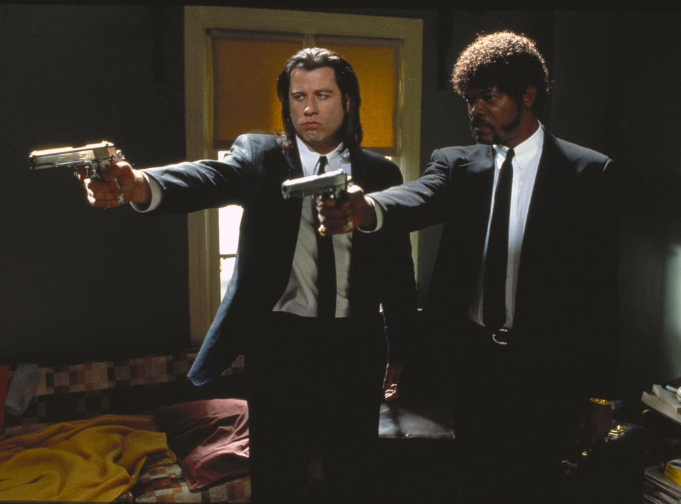 halloween costume - Vincent Vega and Jules Winnfield from Pulp Fiction